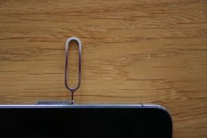 simkaart iPhone omwisselen