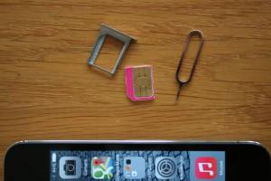 simkaart iPhone 4s verwijderen