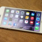 beeldscherm van de iPhone 6 Plus