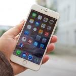 iPhone 6 Plus in de hand