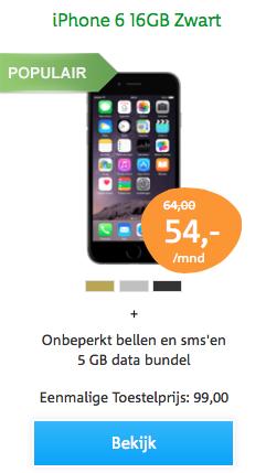 aanbieding KPN iPhone 6