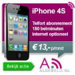 gratis iPhone 4s met abonnement van Telfort
