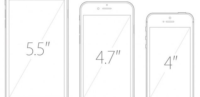 Er komt waarschijnlijk geen kleinere iPhone 6