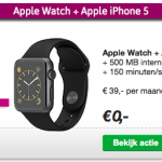 iPhone en Apple Watch actie