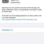 iOS 9.3.1 brengt oplossing voor problemen met het openen van linkjes
