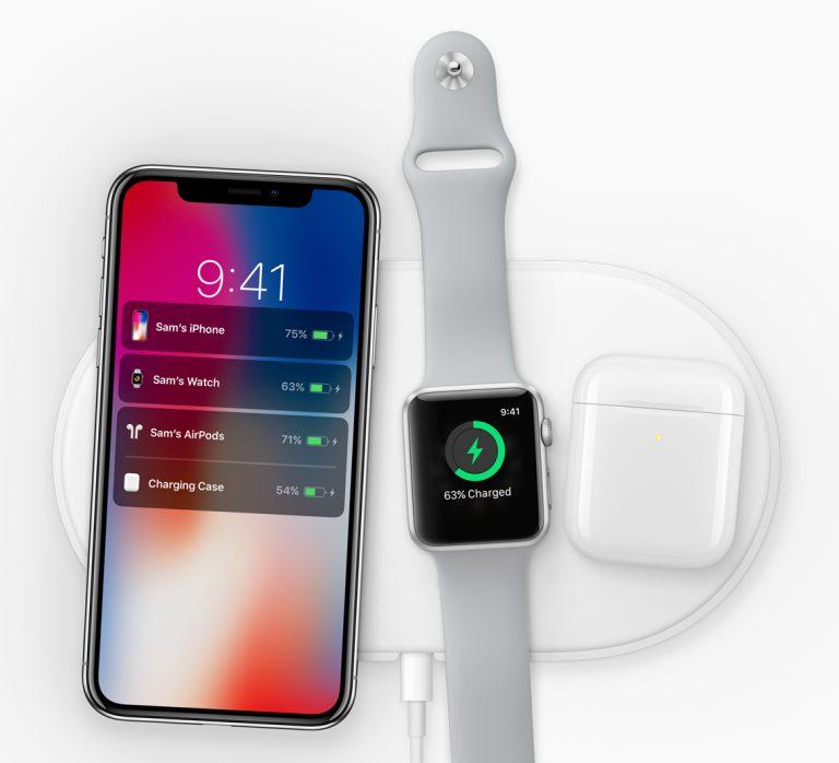 draadloos opladen iPhone X