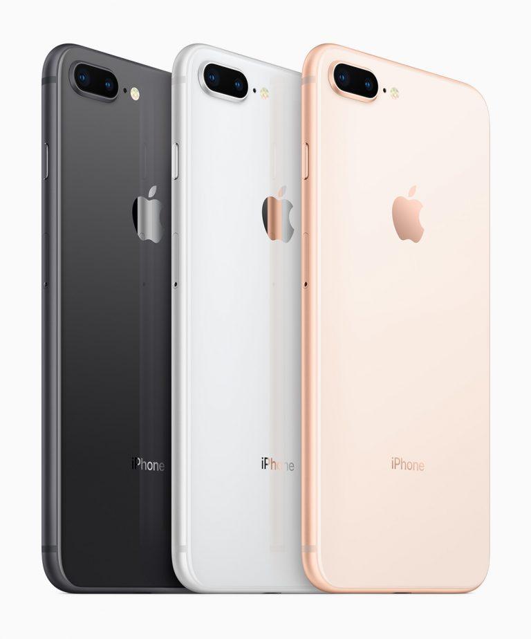 kleuren iPhone 8