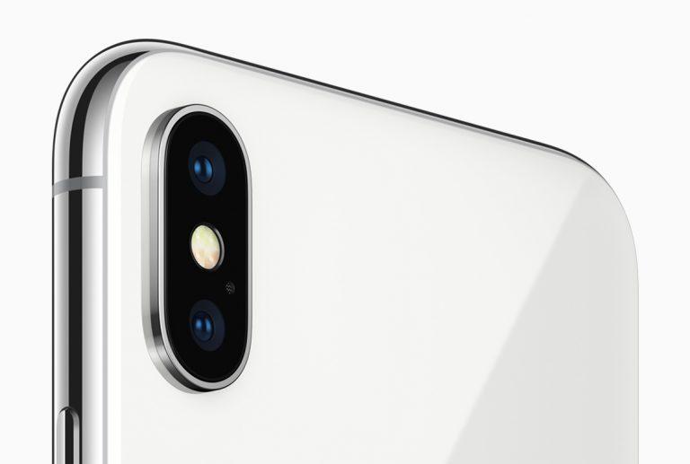 camera's iPhone X