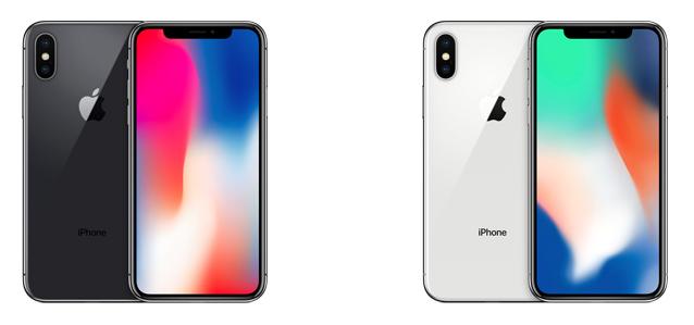 kleuren iPhone X