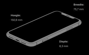 afmetingen iPhone XR