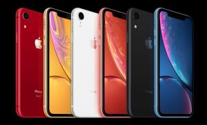 kleuren iPhone XR